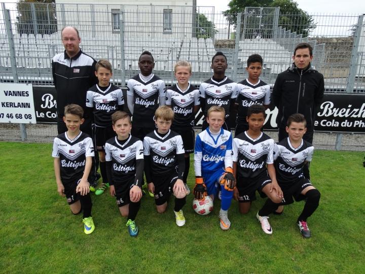 Les U12 Guingampais lors de l'édition 2016.