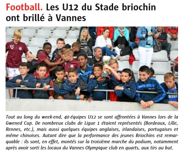 Le Télégramme Saint-Brieuc - 22 Juin 2016