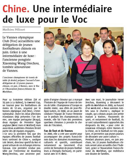 Le Télégramme Vannes - 1er Mars 2016